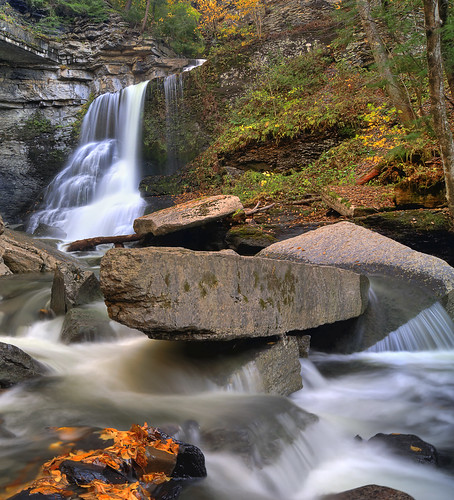 ny fall waterfall hiking upstate glen waterfalls gorge fillmore fingerlakes moravia