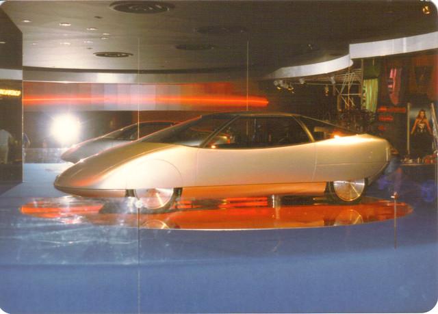 Epcot Future Car