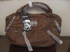 DIESEL bolso bandolera marron 2