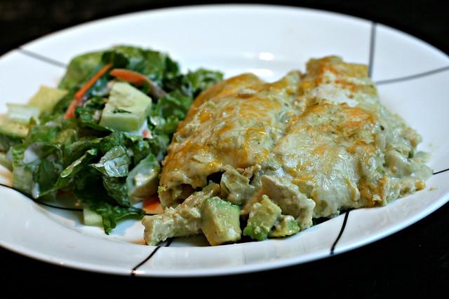Chicken and Avocado Enchiladas | Flickr - Photo Sharing!