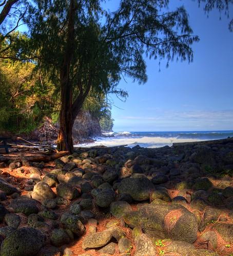 hawaii stream inlet bigisland railroadbridge hamakuacoast kolekolebeachpark itsawonderfulworld verorama