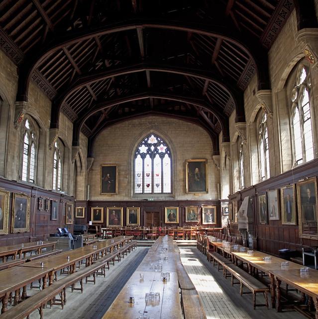 Balliol College Oxford Hall Interior Flickr Photo Sharing