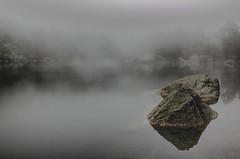 Niebla en la Laguna Negra