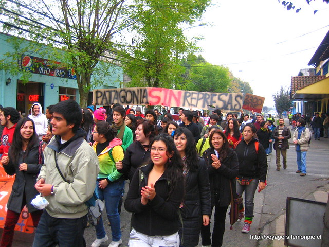 Marcha Patagonia Sin Represas Temuco/Patagonia Without Dams March, Temuco