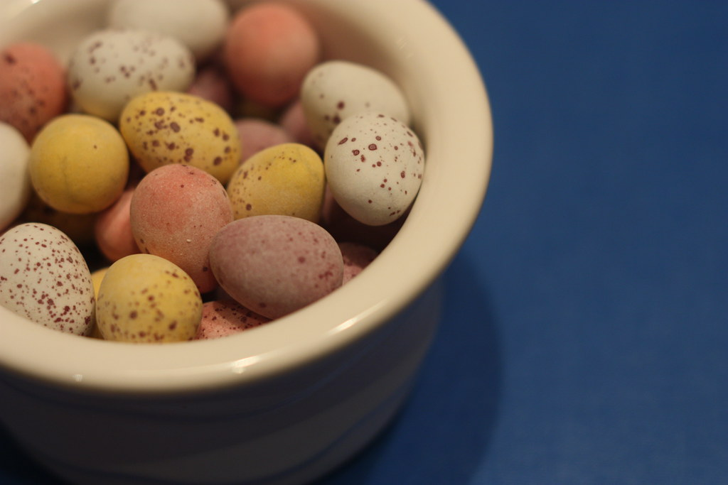 {116} Easter chocolate