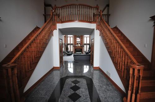 Barrington stair before upgrade