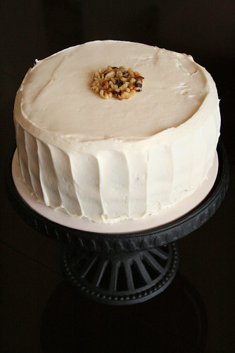Pineapple Carrot Cake.