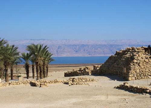 Ruins near the Dead Sea