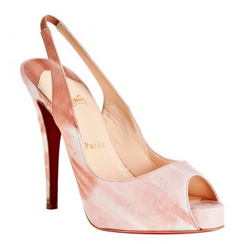 43a7f6487a Christian Louboutin nude earth 'No Prive 120 Woodstock' slingback pumps by  red bottom shoes