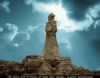 Princess of hope, Near Gwadar, Baluchistan