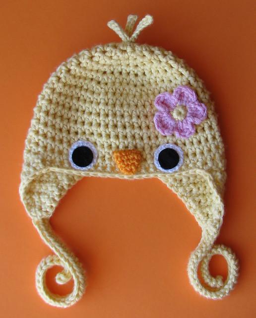 Newborn Crochet Chicken Hat Pattern : New Yellow Baby Chick Hat for Etsy, Newborn Size Flickr ...