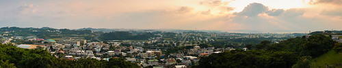 Okinawa Sunset Panorama