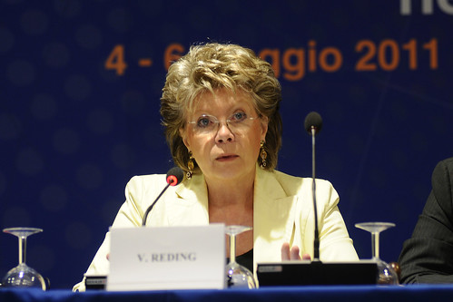 EPP Group Study Days in Palermo.   Viviane Reding,...