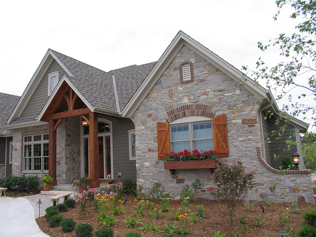 Chilton heritage blend flickr photo sharing - Stone brick exterior combinations ...