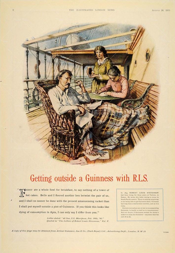 Guinness-1955-RL-Stevenson-Ltr-Feb-19-1893