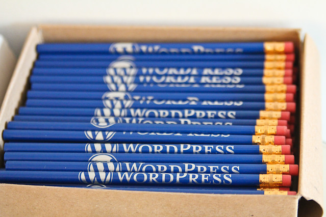 WordPress pencils