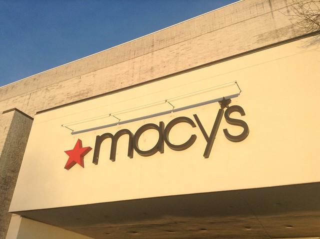 Header of macy's