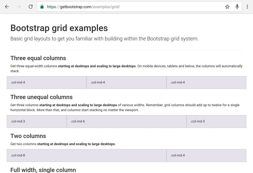 Web tutorial 10 practical bootstrap usage modern for Getbootstrap com templates