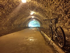 2016 Bike 180: Day 176 - Under the C&O Canal
