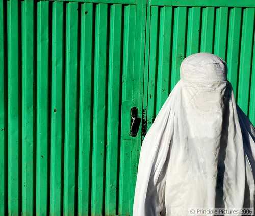 The Gates of Kabul, White Burqa