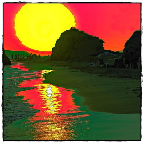 praia portugal faro mar sony pôrdosol algarve soe oceano valedolobo artdigital dslra100 awardtree galleryofdreams trolledproud crazygeniuses mygearandme mygearandmepremium gilbertooliveira gilxxl