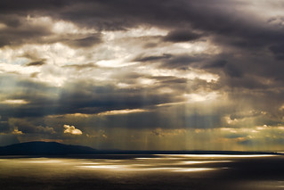 Sun vs Clouds - Lake Geneva, Switzerland