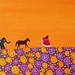 The Elephant, The Horse & The Maharani - Detail by shirin sahba moore