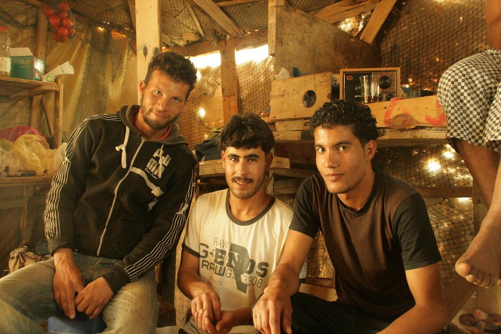 Pescadors a la barraca
