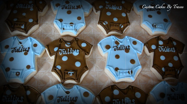 blue and brown baby shower table ideas photograph brown an