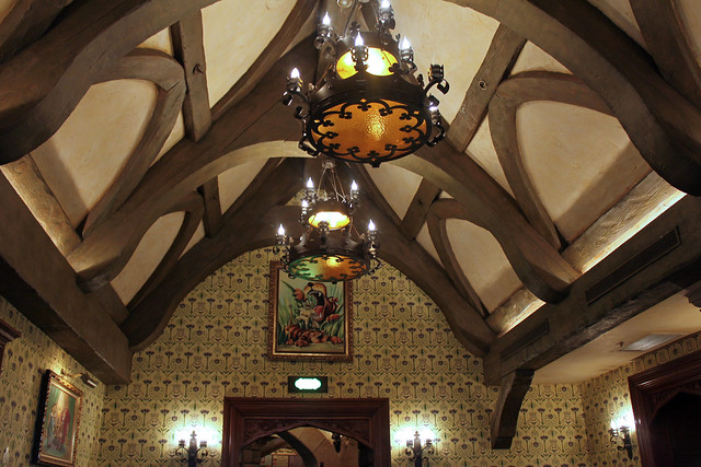 Eating at Toad Hall Restaurant
