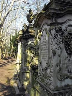 Grave of Lousie von Rothschild, nee Rothschild (1820-1894) - Donator