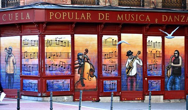 escuela de musica popular: