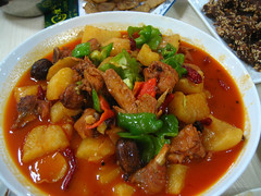 stew, curry, japanese curry, sweet and sour pork, kung pao chicken, meat, red curry, food, dish, cuisine, gumbo, goulash,