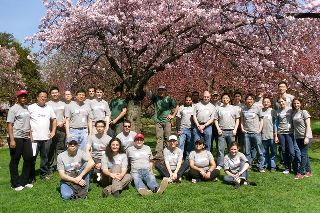 Goldman Sachs Community TeamWorks Volunteers. Photo by Kathryn Littlefield.
