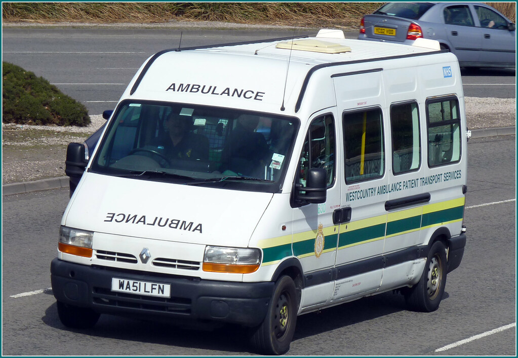 South Western Ambulance WA51LFN