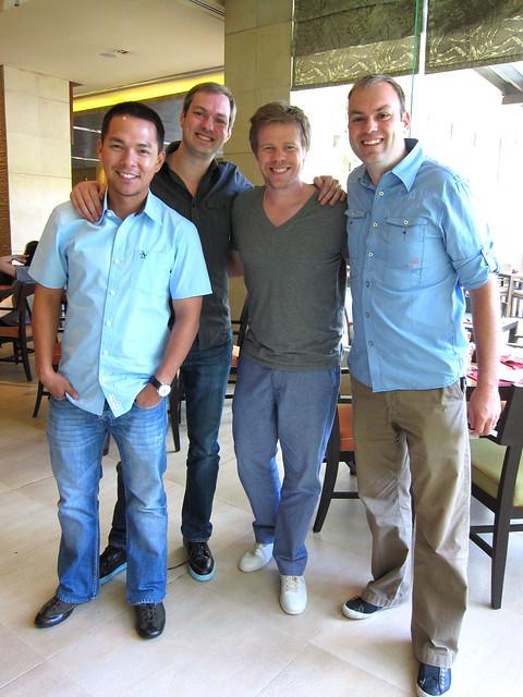Tonichi, Jeroen, Ferry, Victor