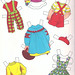 Paper Doll Clothes Back