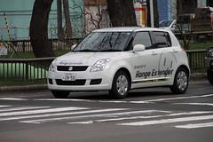 automobile(1.0), wheel(1.0), vehicle(1.0), automotive design(1.0), suzuki swift(1.0), city car(1.0), compact car(1.0), land vehicle(1.0), hatchback(1.0),