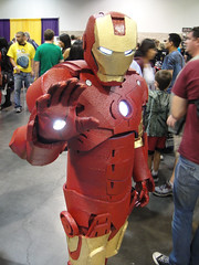 Wizard World Review - Iron Man Pic
