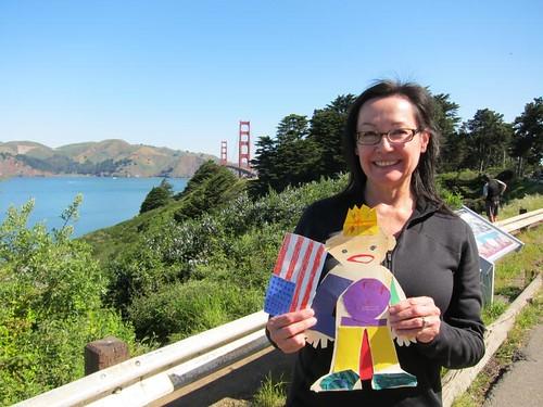 Flat Stanley, San Francisco, Golden Gate Bridge IMG_5596