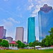Small photo of View From Sam Houston Park HDR