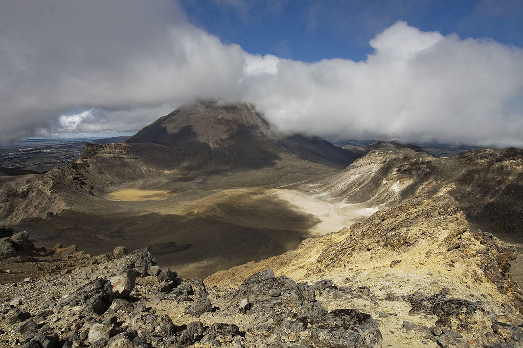 volcán Tongariro
