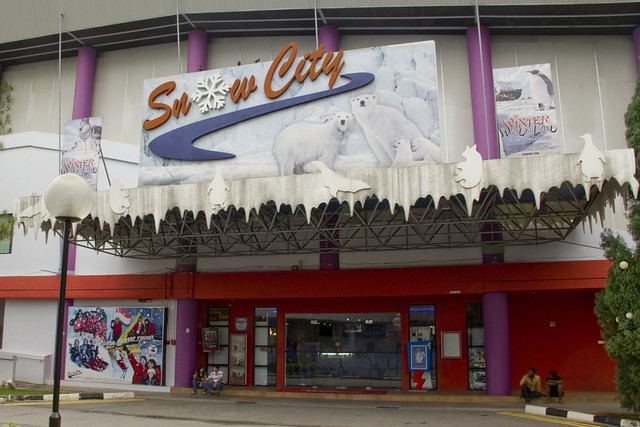Singapore snow city