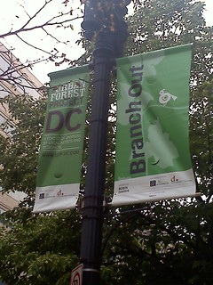 One of 100 UFP DC banners around NW Washington, DC!