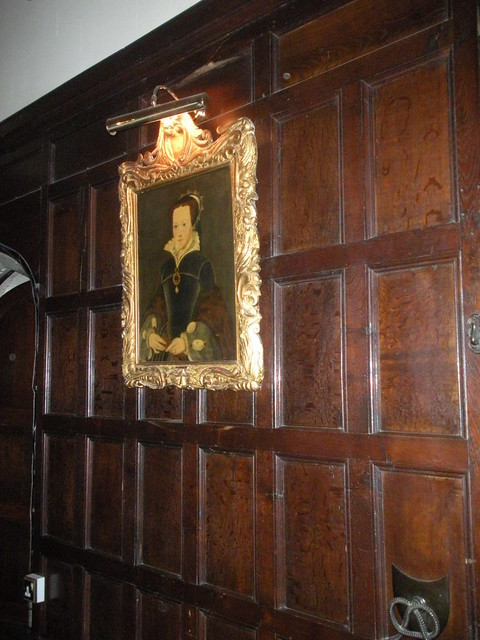 Portrait of Queen Mary I in Thornbury Castle