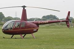 G-CDWK - 2006 build Robinson R44 Raven II, visiting Barton