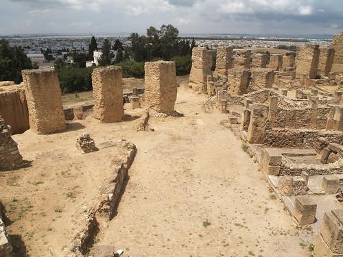 Remains at Carthage, Tunisia