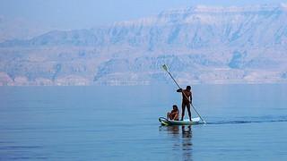 Navegando en el Mar Muerto