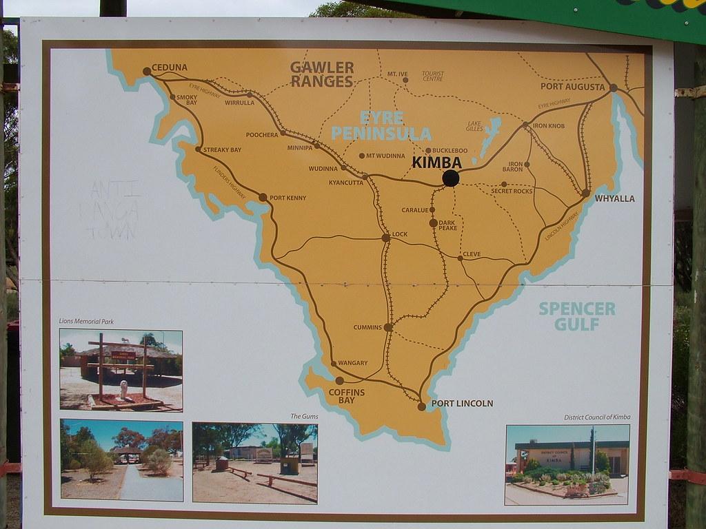 kimba railway station map