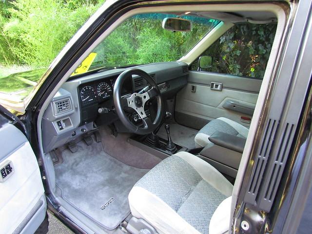 85 toyota pickup interior flickr photo sharing